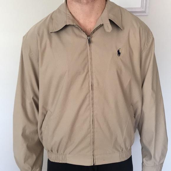 37dd0d19b Polo Ralph Lauren Khaki Jacket